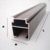 aluminium profile packing machine machine