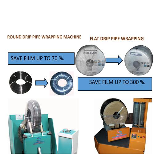 flat drip and round drip packing machine