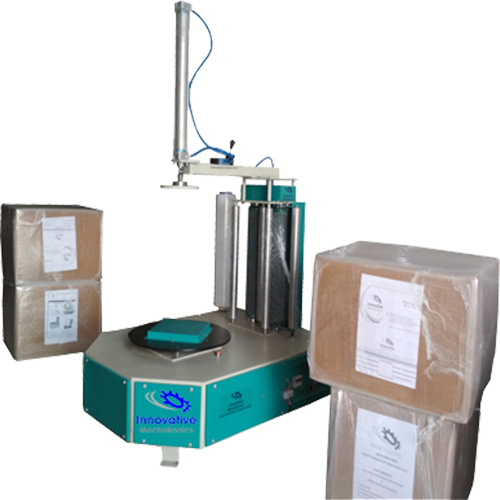 Carton Box Stretch Wrapping Machine