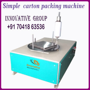 manual box stretch wrapping machine