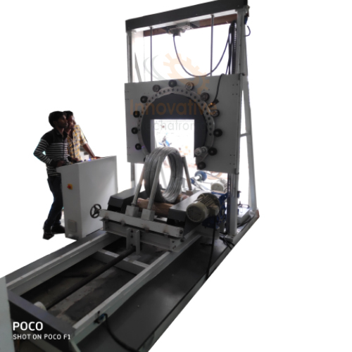 CHQ Steel Wire Film Wrapping Machine