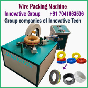 wire and cable wrapping machine