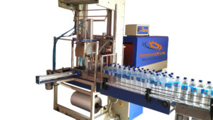 Water Bottle Automatic Shrink Wrapping Machine