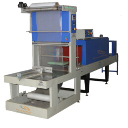 shrink wrapping machine for battery packing
