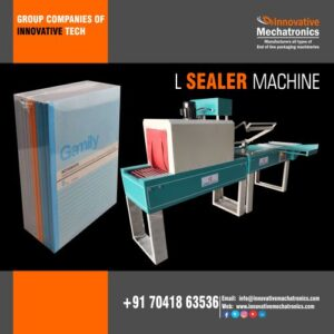 Automatic Notebook L sealing machine